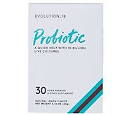 EVOLUTION_18 Probiotic Lemon Melt Stick Packets Auto-Delivery - A343803