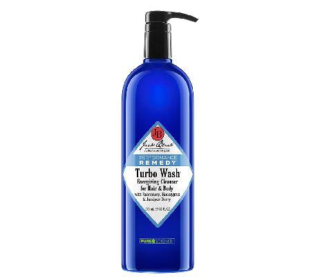 Jack Black Turbo Wash Energizing Hair & Body Cleanser, 33 oz - A244304 — QVC.com