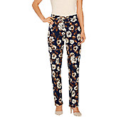 Isaac Mizrahi Live! 24/7 Stretch Straight Leg Pants - A266704