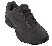 As Is Ryka Suede Lace-up Walking Shoes - Catalyst - A269104