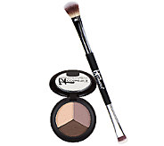 IT Cosmetics Pretty in Fall Eye Shadow Trio w/ No-Tug Brush - A270904