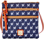 Dooney & Bourke MLB Brewers Triple Zip Crossbody - A280004