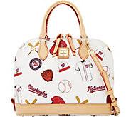 Dooney & Bourke MLB Nationals Zip Zip Satchel - A280104