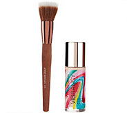 Josie Maran Argan Vibrancy Foundation Fluid w/ Brush Auto-Delivery - A281404