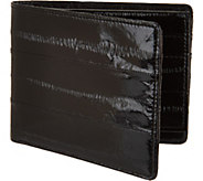 Lee Sands Mens Eelskin Wallet - A296304
