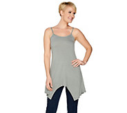 As Is LOGO Layers by Lori Goldstein Striped Camisole - A298204