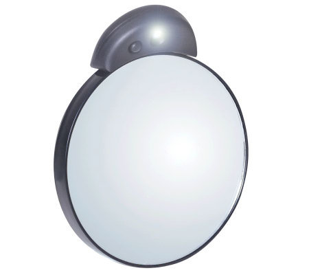 Tweezerman Tweezermate 10x Lighted Mirror Qvc Com