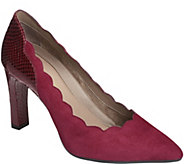 Aerosoles Heel Rest Suede Pumps - Taxi Ride - A360004