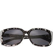 Bertha Natalia Multicolor Sunglasses w/ Black Polarized Lense - A361204
