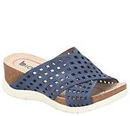 Bionica Nubuck Slide Sandals - Pandora - A412104