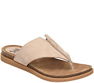 Sofft Nubuck Thong Sandals - Rina - A412704