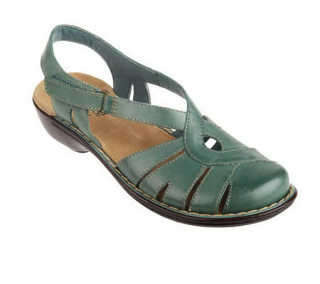 Clarks Bendables Ina Jewel Fisherman Sandals Qvc Com