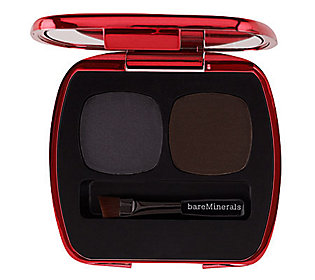 bareMinerals Ready Liner Shadow Duo in The Horizon Line with 0.1-oz each in Panorama (a charcoal) and Perspective (a deep espresso)