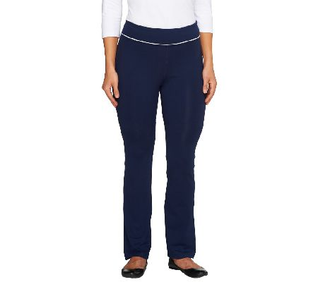 Denim & Co. Active Duo-Stretch Yoga Pants - A257505