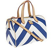 Dooney & Bourke Large Chevron Olivia Satchel - A263105