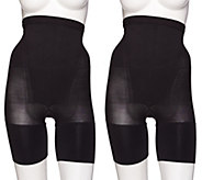 Spanx In Power Super Higher Power Short Set of Two - A267205
