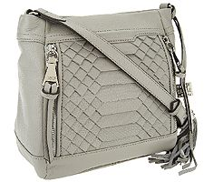 Aimee Kestenberg Pebble Leather Crossbody - Bryo...
