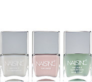Nails Inc. 3 Piece Nail Kale Superfood Collection - A271205