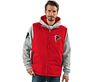 NFL 8-in-1 Reversible Vest and Hoodie Combo - A280705