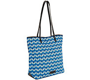 As Is Vera Bradley Signature Print Day Tote - A282405