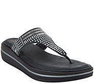 As Is Skechers Studded Thong Sandals w/ Memory Foam - A284405