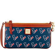 Dooney & Bourke NFL Texans Large Slim Wristlet - A285805