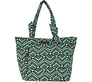 Vera Bradley Signature Print Hadley East/West Shopper - A292905