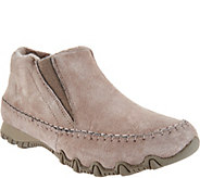 Skechers Relaxed Fit Suede Ankle Boots - Spirit Animal - A295905