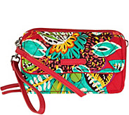 As Is Vera Bradley Signature All in One RFID Crossbody - A299805