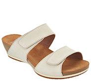 Dansko Leather Adjustable Two Strap Sandals- Vienna - A303805