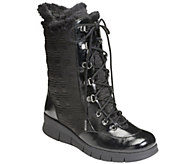 A2 Core Comfort Quilted Lace-Up Boots - Enamel - A338405