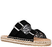 Sakroots Double Band Slide Espadrille Sandals -Mandy - A340605