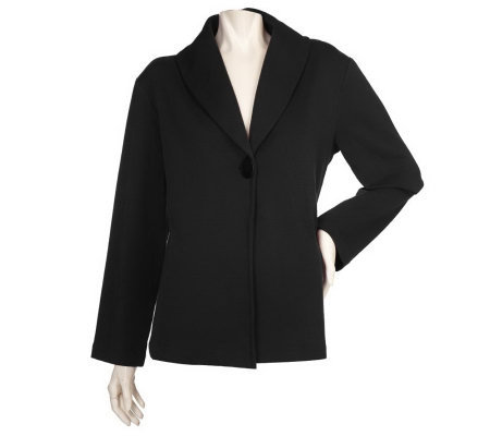 Modern Soul NewStretch Long Sleeve Shawl Collar