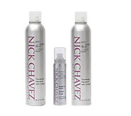 Nick Chavez Plump N Thick Hair Spray Duo withMini Hair Spray - A144206