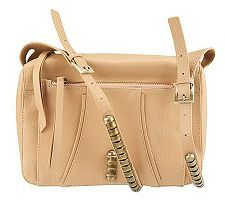Kelsi Dagger Stellan Pebble Leather Crossbody with Adj. Strap