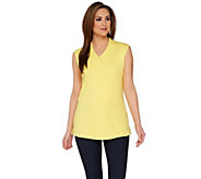 Isaac Mizrahi Live! Essentials Extended Shoulder Tunic - A272506