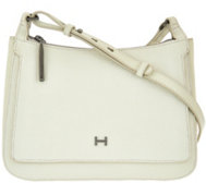 H by Halston Saffiano & Smooth Leather Crossbody Bag