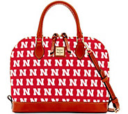 Dooney & Bourke NCAA University of Nebraska Zip Zip Satchel - A283206