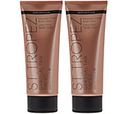 St. Tropez Set of 2 Tinted Gradual Tan Auto-Delivery - A284006
