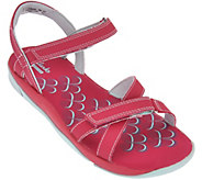 As Is Clarks Adjustable Multi-strap Sport Sandals - Tresca Trace - A284306