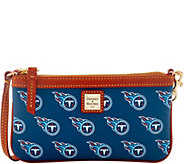 Dooney & Bourke NFL Titans Large Slim Wristlet - A285806