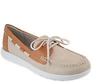 Clarks Cloud Steppers Boat Shoes - Jocolin Vista - A288106