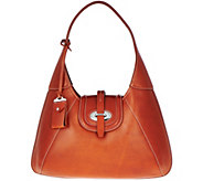 As Is Dooney & Bourke Florentine Toscana Front Stich Hobo Bag - A290006