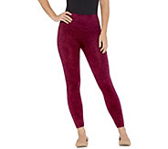 As Is Spanx Croppeed Look at Me Now Seamless Leggings - A297106