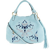 G.I.L.I. Suede Embroidered Roma 2 - A302706