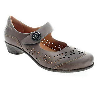 Spring Step Style Music Leather Mary Jane Shoes