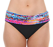 Maidenform Beach Banded Hi-Waist Swim Bottoms - A332406