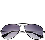 Bertha Brooke Black Sunglasses w/ Polarized Lenses - A361206