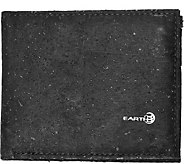 Earth Cork Amadora Wallet - Black - A361506