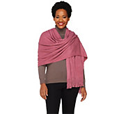 Layers by Lizden Marvelush Cable Knit Wrap - A226407